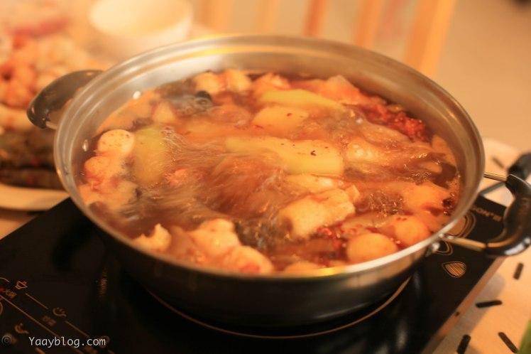 boiling hotpot